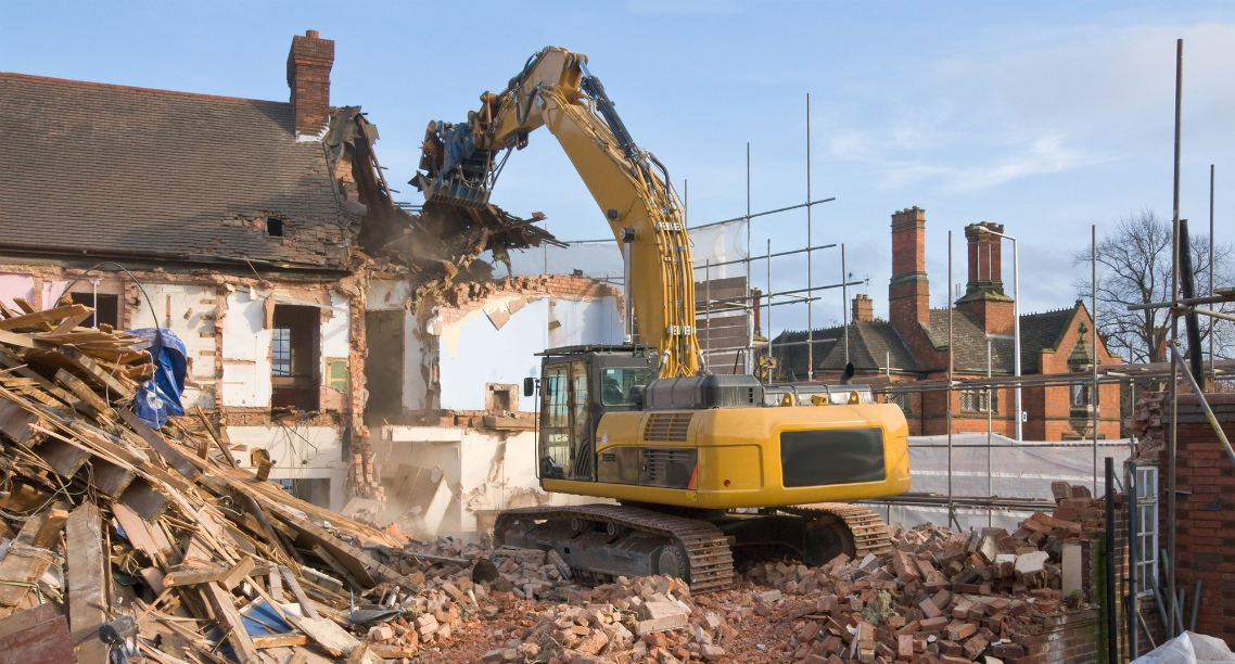 Знесення будівель